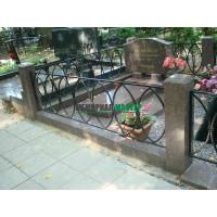 Кованая ограда О-003