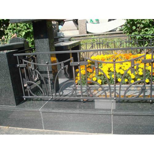Кованая ограда О-005