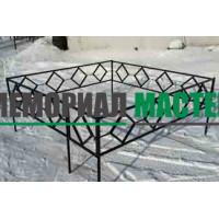 Профильная ограда (h-40) О-011