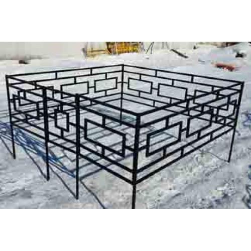 Профильная ограда (h-60) О-014