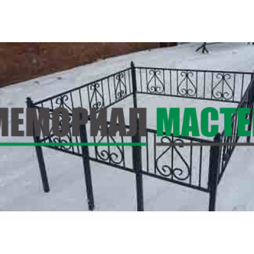 Ограда полуковка «Лира» (h-40)
