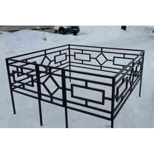 Профильная ограда (h-60) О-017