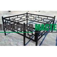 Профильная ограда с шарами (h-50)