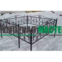 Ограда полуковка «Лист» (h-50)