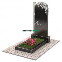 Памятник с березой П00207
