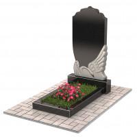 Памятник с лебедем П00214