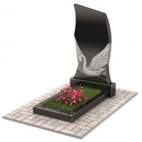 Памятник с лебедем П00215