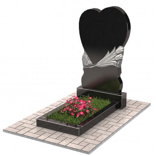Памятник в виде сердца П00223