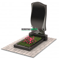 Памятник с тюльпанами П00224
