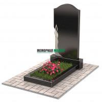 Памятник со свечой П00227