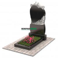 Памятник с голубями П00235