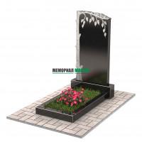 Памятник с березой П00245