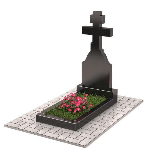 Памятник в виде креста П00278