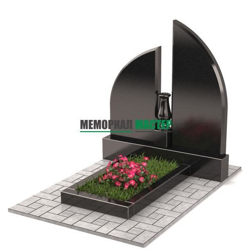 Памятник с вазой П00292