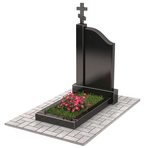 Памятник с крестом П00310