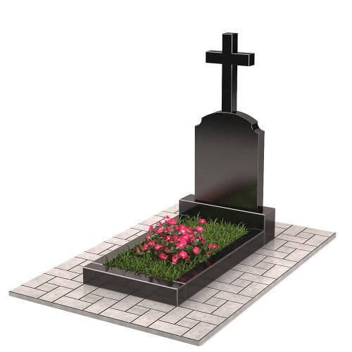 Памятник с крестом П00392