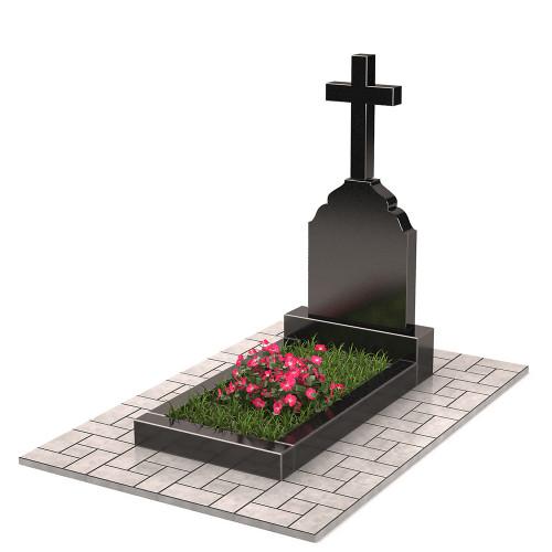 Памятник с крестом П00394