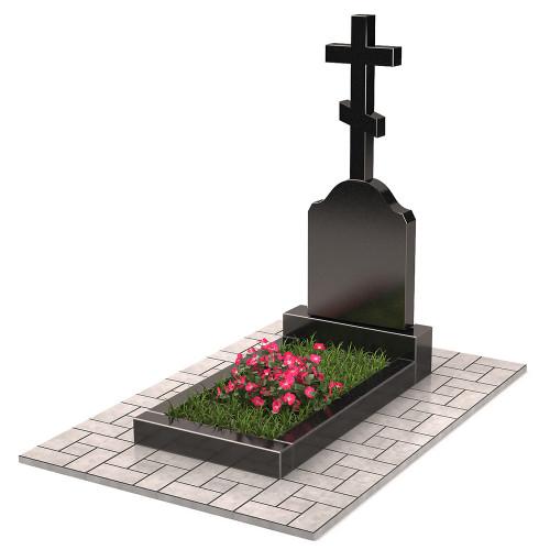 Памятник с крестом П00398