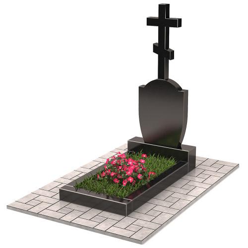 Памятник с крестом П00400