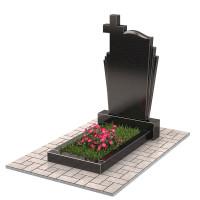 Памятник с крестом П00482