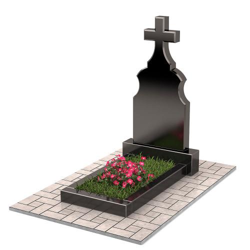Памятник с крестом П00484
