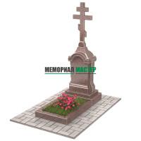 Памятник голгофа с крестом П00501