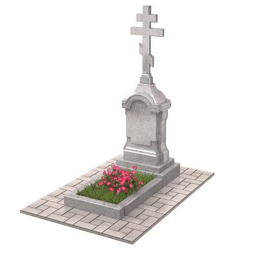 Памятник голгофа с крестом П00502