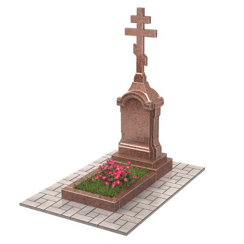 Памятник голгофа с крестом П00503