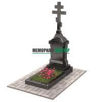 Памятник голгофа с крестом П00504