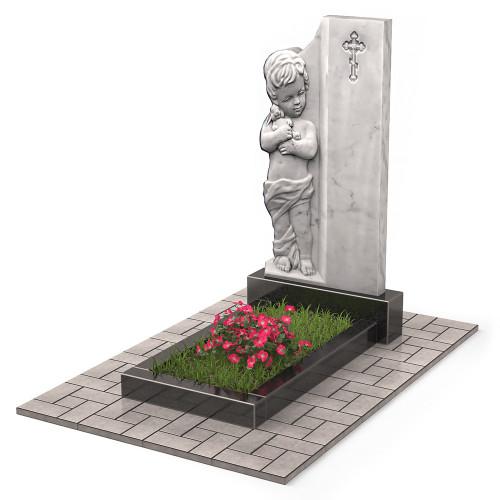 Памятник младенцу из мрамора П00515