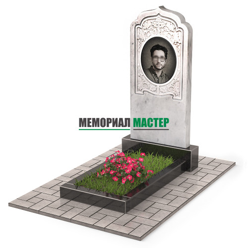 Памятник из мрамора П00534