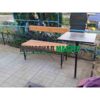 Профильный стол и лавка