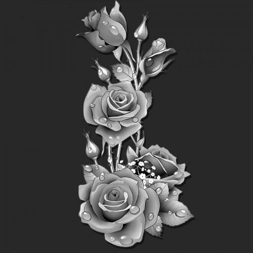 Цветы розы ГР0067