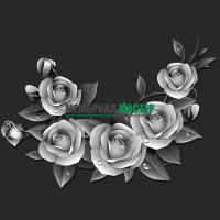 Цветы розы ГР0027