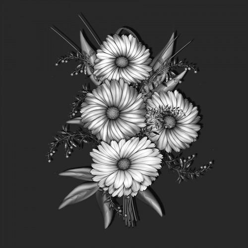 Букет цветов ГР0076