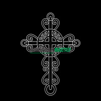 Крест ажурный ГР0038