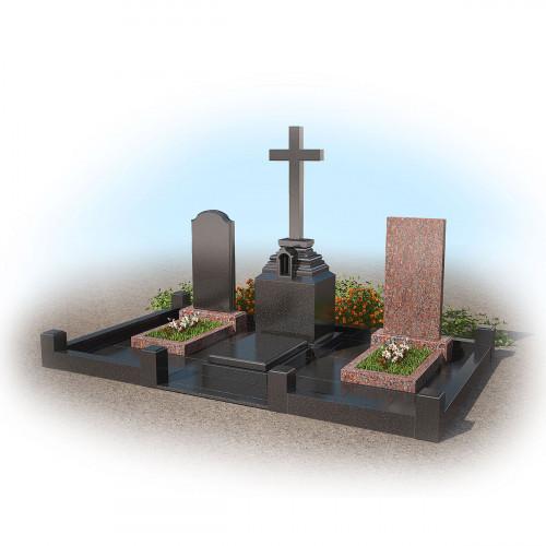 Мемориальный комплекс на семейное захоронение