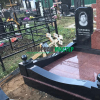 Демонтаж памятников на кладбище