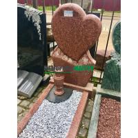 Памятник в виде сердца П00506