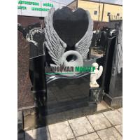 Памятник Лебедь с сердцем П00142